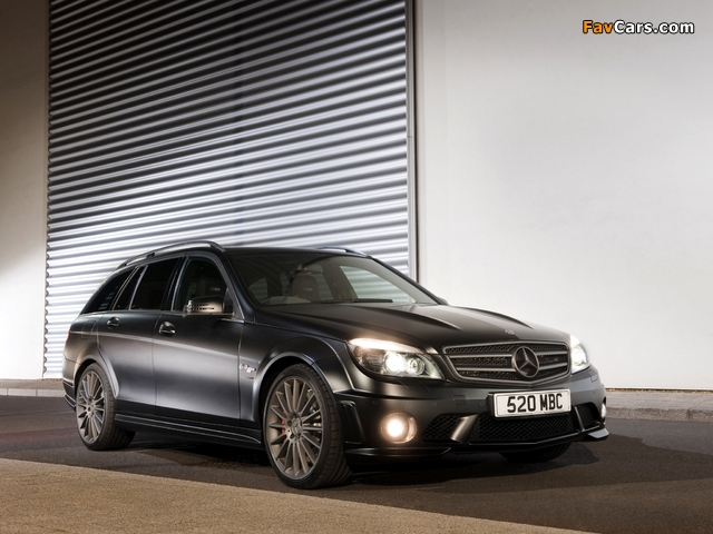 Mercedes-Benz C 63 AMG DR520 Estate (S204) 2010 wallpapers (640 x 480)