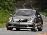 Mercedes-Benz C 300 Sport US-spec (W204) 2010–11 wallpapers