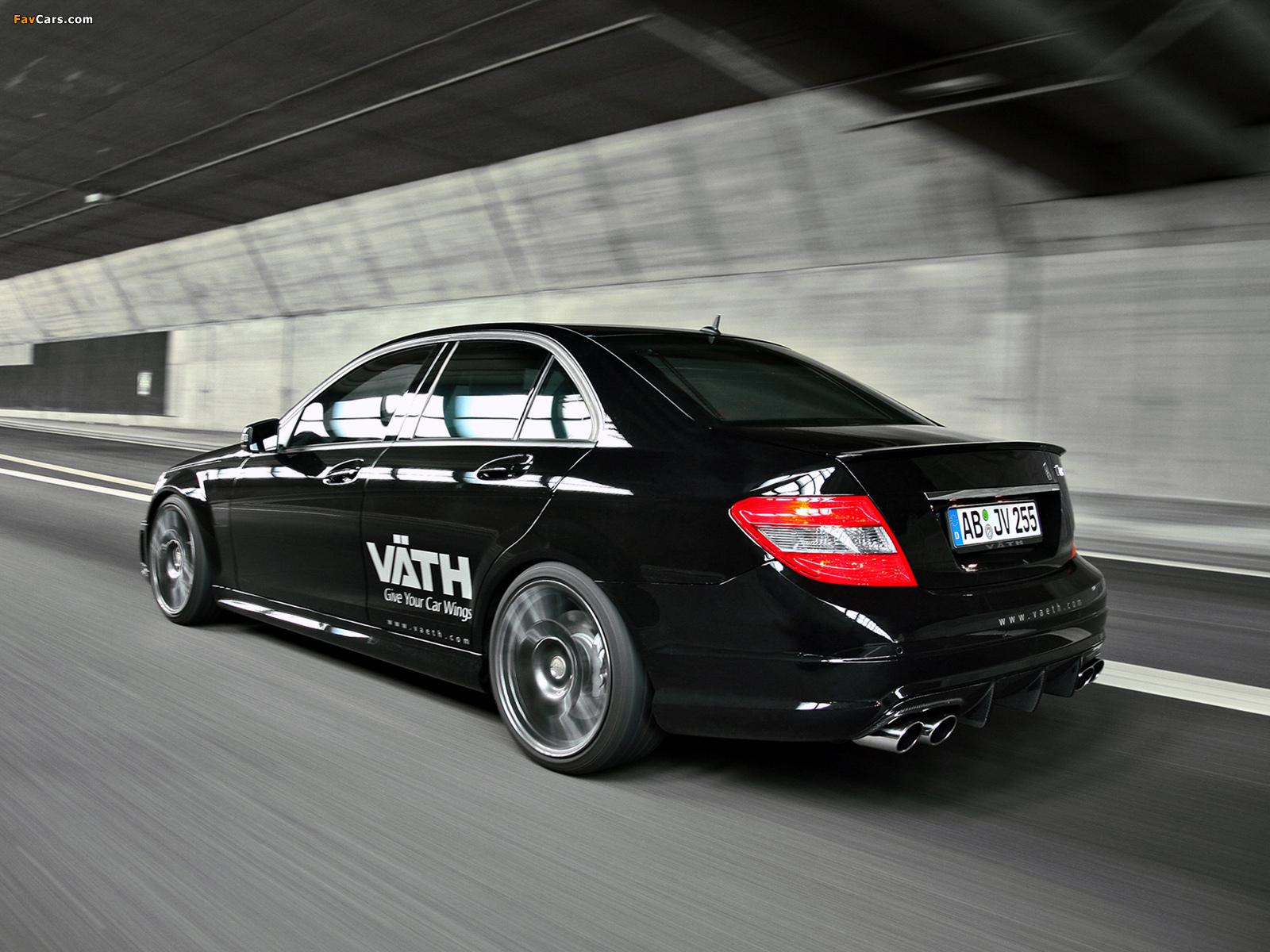 VÄTH Mercedes-Benz C 250 CGI (W204) 2010 wallpapers (1600 x 1200)