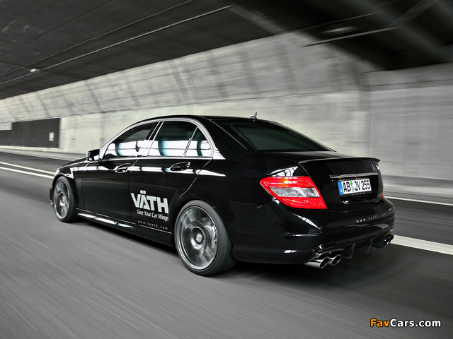 VÄTH Mercedes-Benz C 250 CGI (W204) 2010 wallpapers (640 x 480)