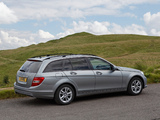 Mercedes-Benz C 220 CDI Estate UK-spec (S204) 2011 wallpapers