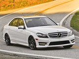 Mercedes-Benz C 300 4MATIC AMG Sports Package US-spec (W204) 2011 wallpapers