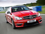 Mercedes-Benz C 63 AMG Coupe UK-spec (C204) 2011 wallpapers