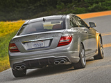 Mercedes-Benz C 63 AMG Coupe US-spec (C204) 2011 wallpapers