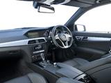 Mercedes-Benz C 63 AMG UK-spec (W204) 2011 wallpapers