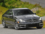 Mercedes-Benz C 63 AMG US-spec (W204) 2011 wallpapers