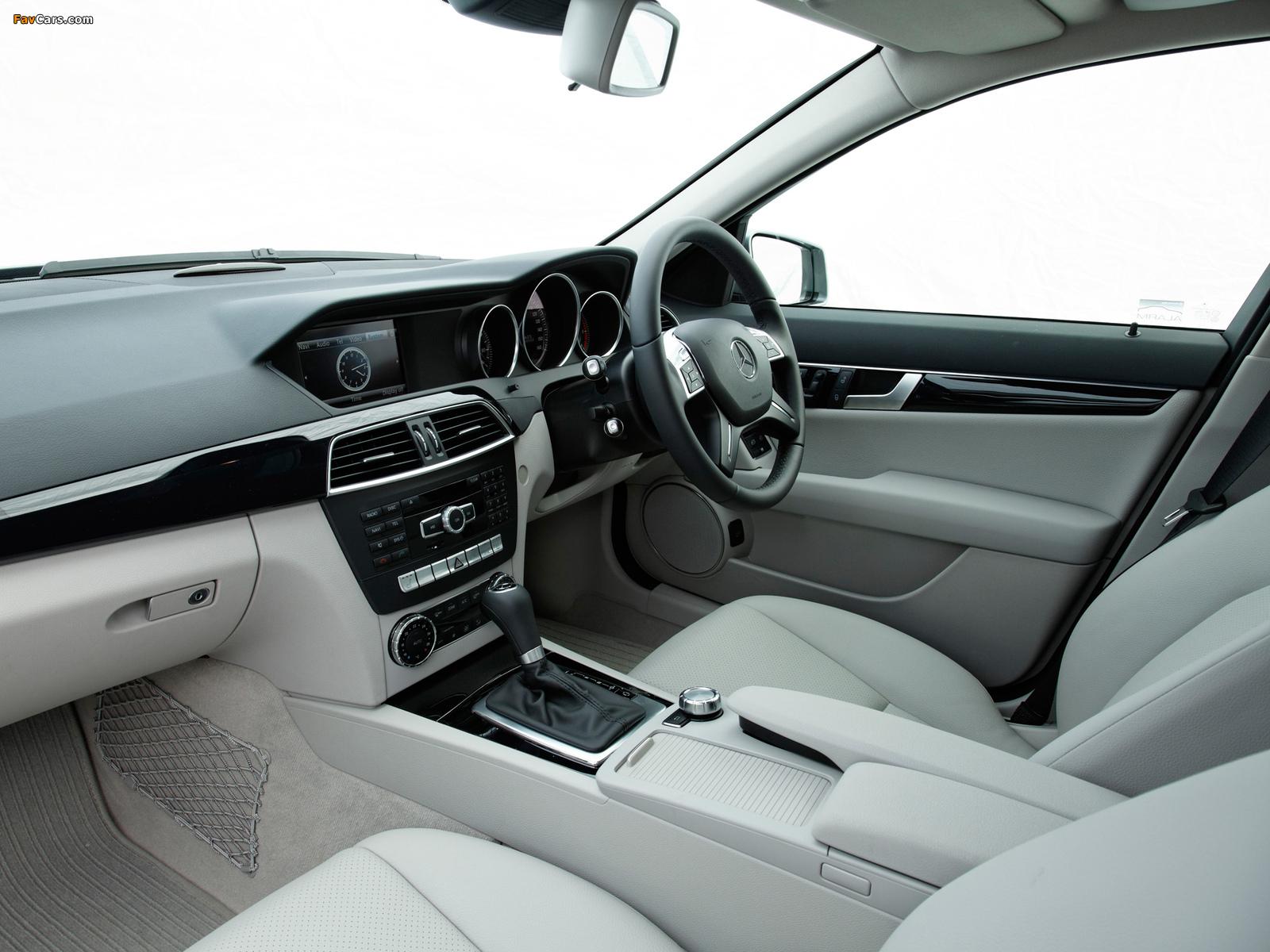 Mercedes-Benz C 220 CDI Estate UK-spec (S204) 2011 wallpapers (1600 x 1200)