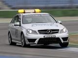 Mercedes-Benz C 63 AMG Estate F1 Medical Car (S204) 2011 wallpapers