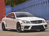 Mercedes-Benz C 63 AMG Black Series Coupe US-spec (C204) 2012 wallpapers