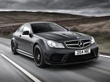 Mercedes-Benz C 63 AMG Black Series Coupe UK-spec (C204) 2012 wallpapers