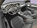 Mercedes-Benz C 250 Coupe Sport US-spec (C204) 2012 wallpapers