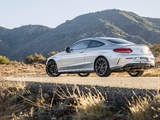 Mercedes-AMG C 43 4MATIC Coupé North America (C205) 2016 wallpapers