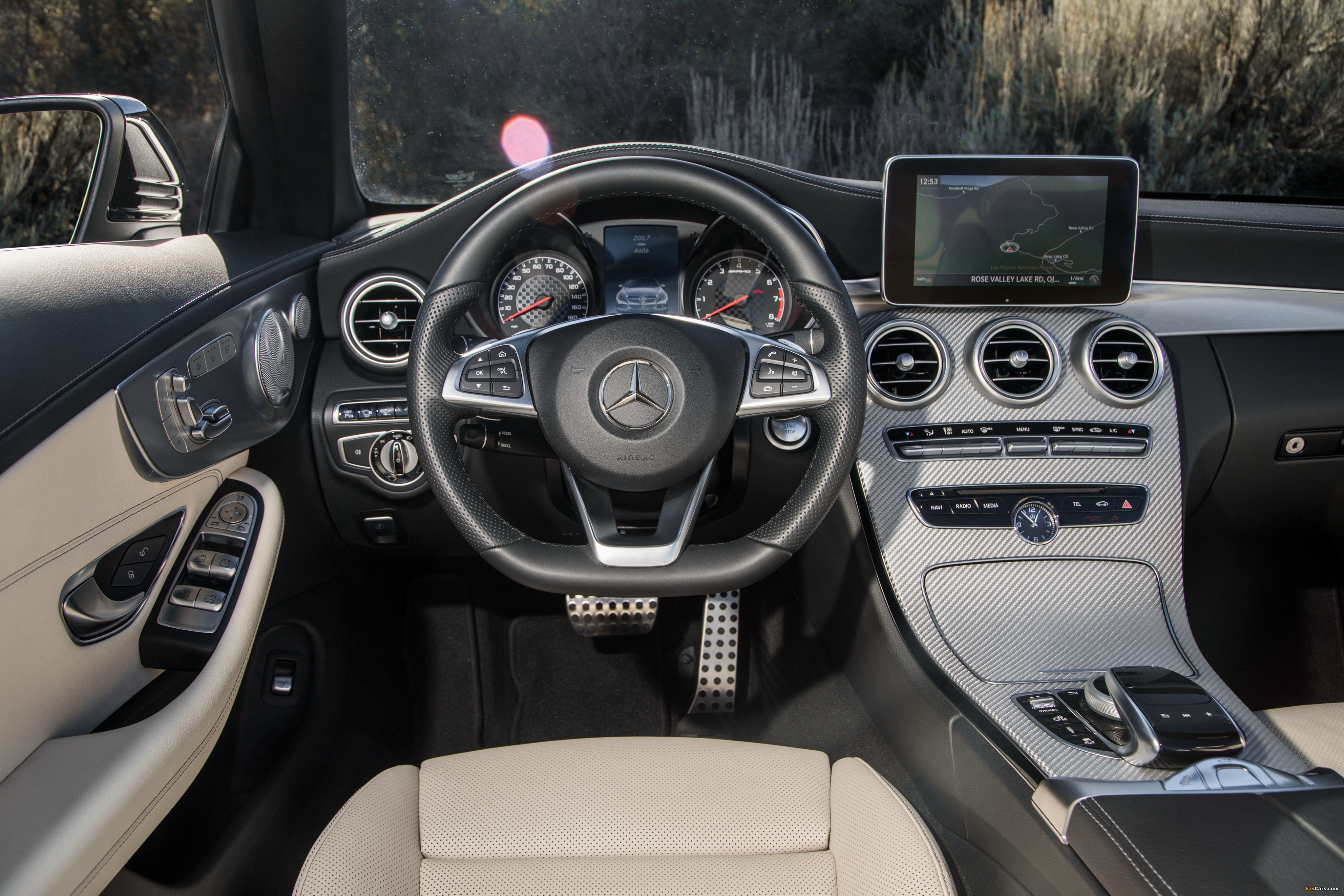 Mercedes-AMG C 43 4MATIC Cabriolet North America (A205) 2016 wallpapers (4096 x 2731)