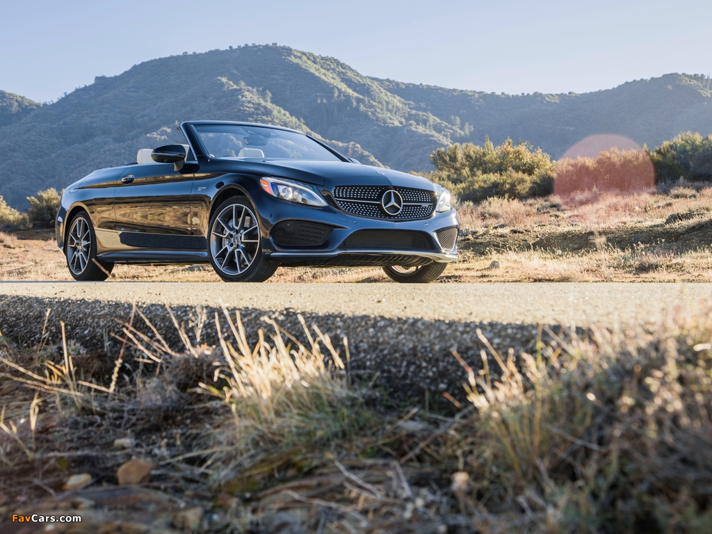 Mercedes-AMG C 43 4MATIC Cabriolet North America (A205) 2016 wallpapers (1024 x 768)