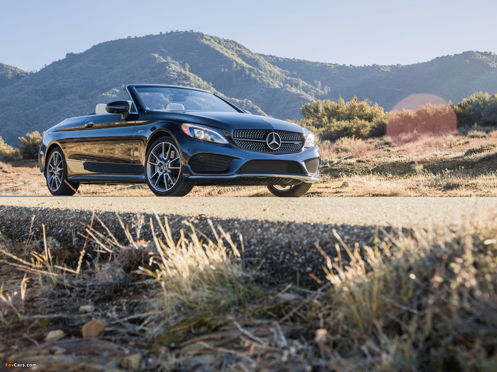 Mercedes-AMG C 43 4MATIC Cabriolet North America (A205) 2016 wallpapers (1600 x 1200)