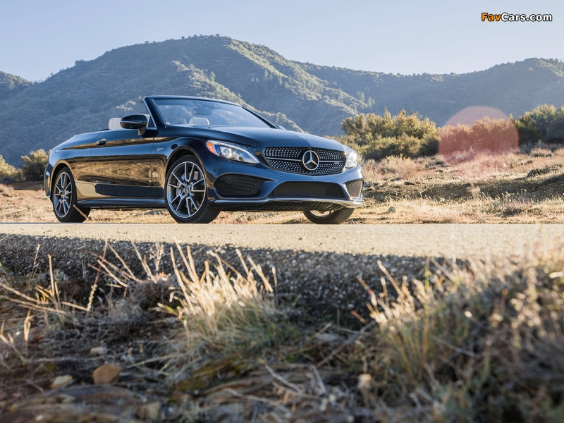 Mercedes-AMG C 43 4MATIC Cabriolet North America (A205) 2016 wallpapers (800 x 600)