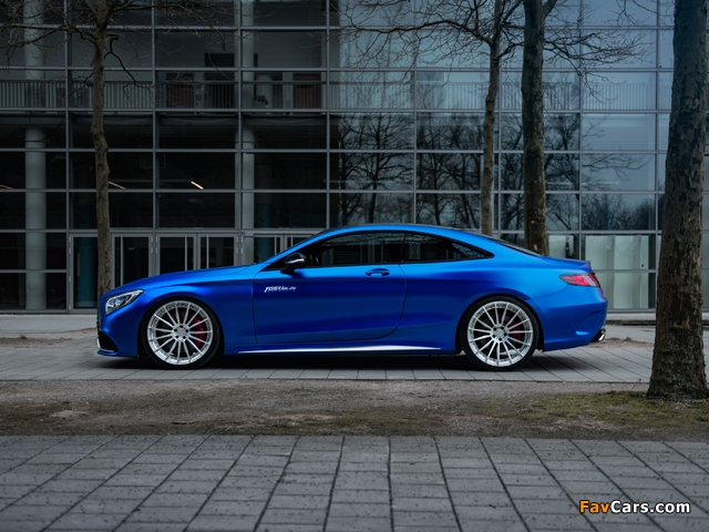 Mercedes-AMG S 63 Coupé by Fostla & PP-Performance (C217) 2017 wallpapers (640 x 480)