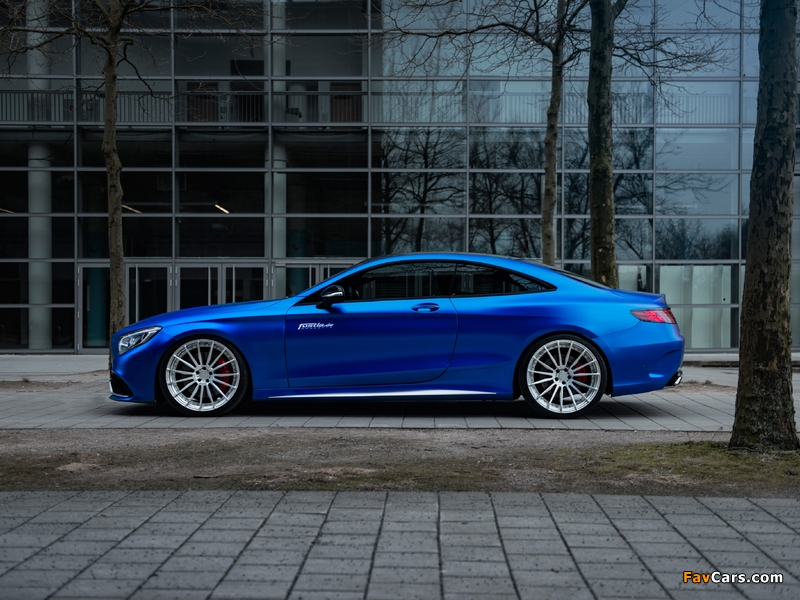 Mercedes-AMG S 63 Coupé by Fostla & PP-Performance (C217) 2017 wallpapers (800 x 600)