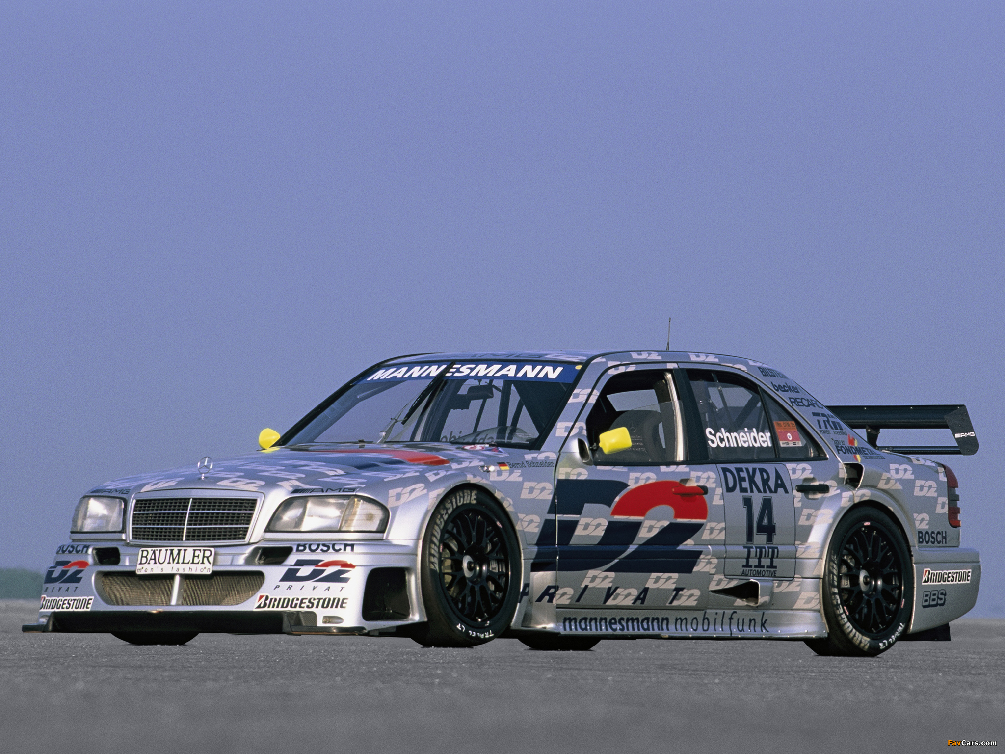 Mercedes-Benz C AMG DTM (W202) 1994 wallpapers (2048x1536)