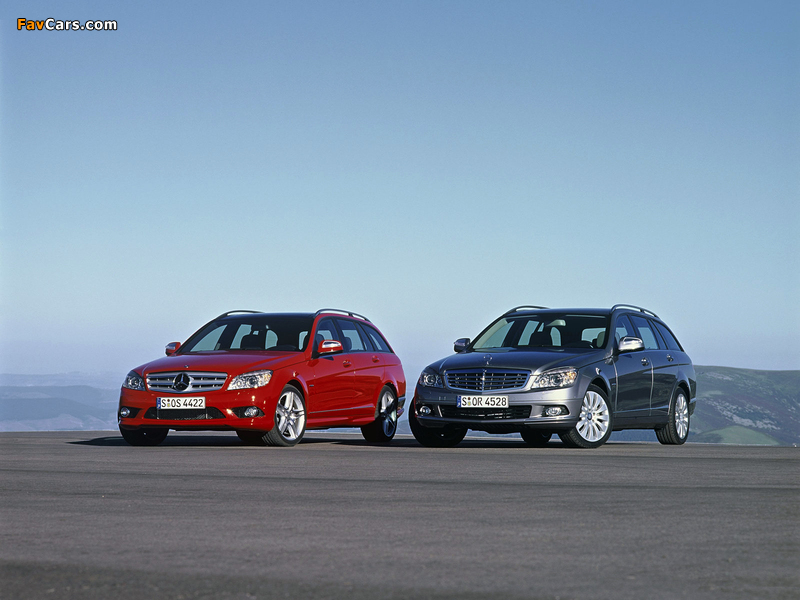 Mercedes-Benz C-Klasse 203 wallpapers (800 x 600)