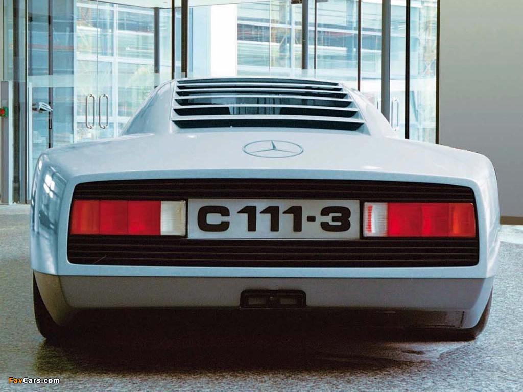 Images of Mercedes-Benz C111-III Diesel Concept 1977 (1024 x 768)