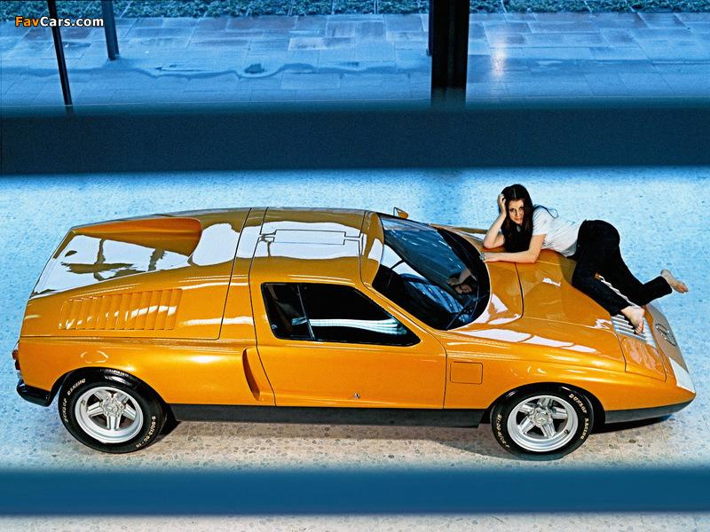 Mercedes-Benz C111-I Concept 1969 photos (800 x 600)