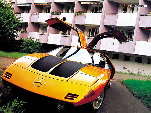 Mercedes-Benz C111-II Concept 1970 pictures (640 x 480)