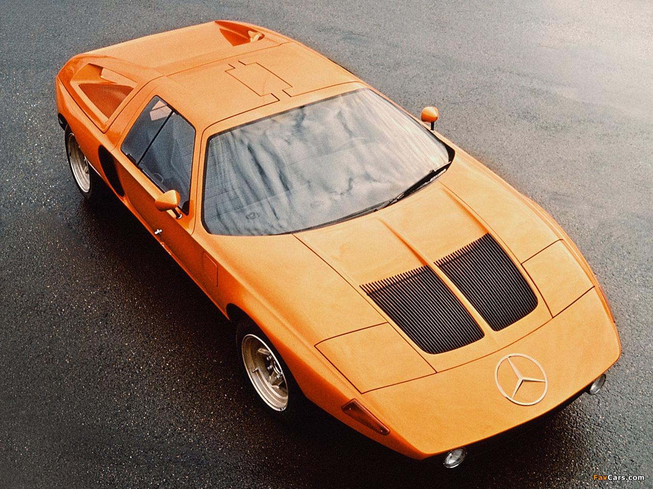 Mercedes-Benz C111-II D Concept 1976 pictures (1280 x 960)