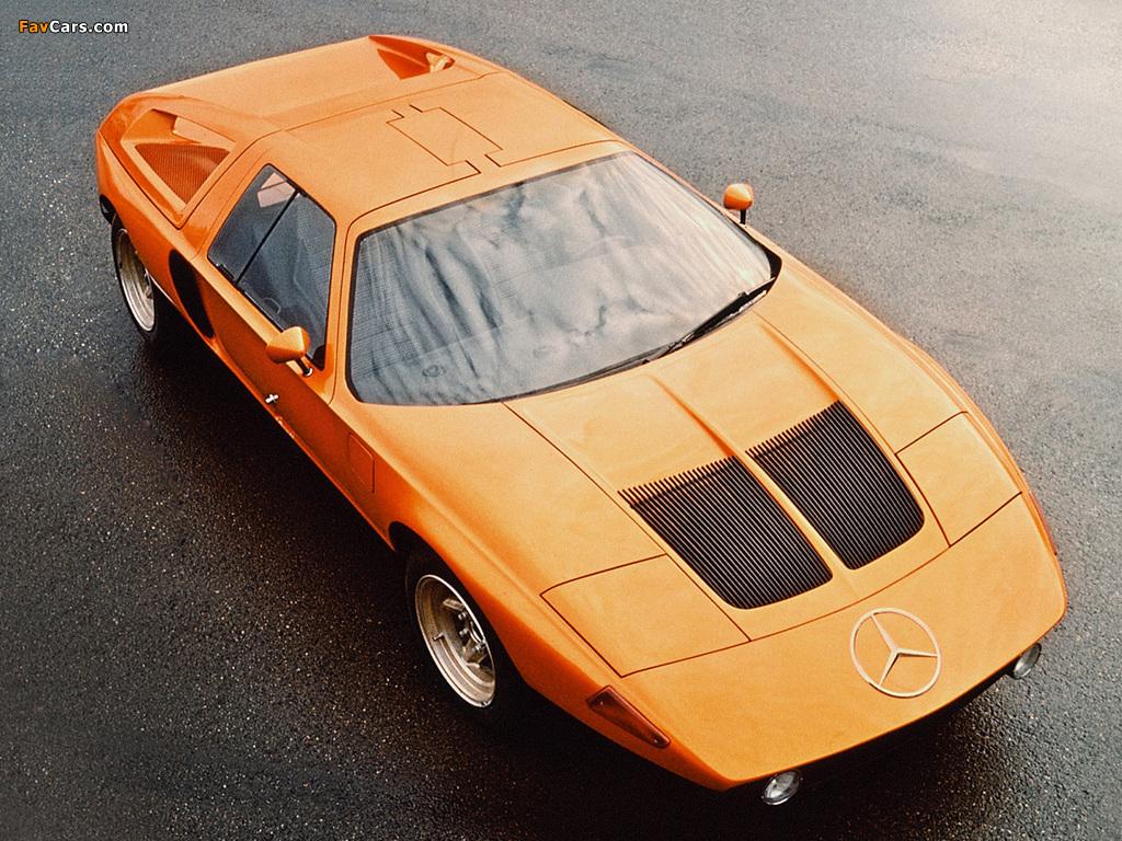 Mercedes-Benz C111-II D Concept 1976 pictures (1024 x 768)