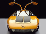 Mercedes-Benz C111-II D Concept 1976 wallpapers