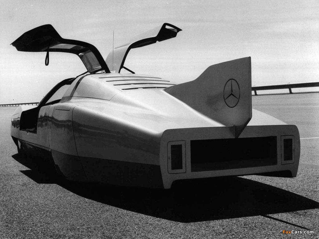 Mercedes-Benz C111-III Diesel Concept 1978 photos (1024 x 768)