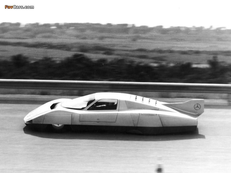 Mercedes-Benz C111-III Diesel Concept 1978 photos (800 x 600)