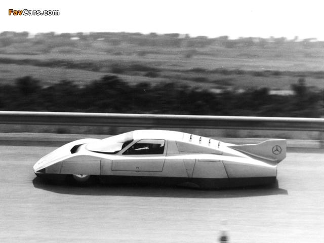 Mercedes-Benz C111-III Diesel Concept 1978 photos (640 x 480)