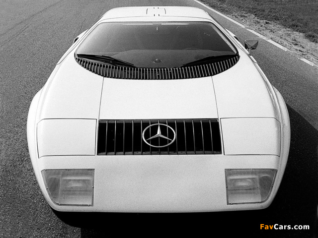 Photos of Mercedes-Benz C111-I Concept 1969 (640 x 480)