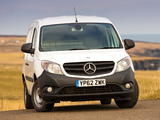 Mercedes-Benz Citan Panel Van UK-spec 2013 images
