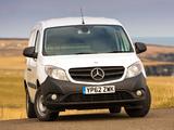 Mercedes-Benz Citan Panel Van UK-spec 2013 images