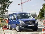 Mercedes-Benz Citan Crewbus 2012 wallpapers