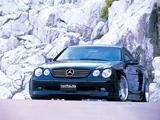 Images of WALD Mercedes-Benz CL60 (C215) 1999–2002