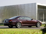 Images of Mercedes-Benz CL 500 4MATIC (C216) 2008–10
