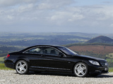 Images of Mercedes-Benz CL 500 AMG Sports Package UK-spec (C216) 2010