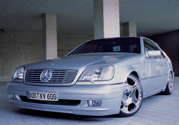 wald mercedes-benz cl 600 (c140) 1997–99 pictures