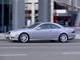 Mercedes-Benz CL 55 AMG (C215) 2000–02 wallpapers