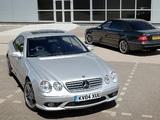 Mercedes-Benz CL 65 AMG UK-spec (C215) 2003–06 images
