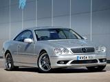 Mercedes-Benz CL 65 AMG UK-spec (C215) 2003–06 pictures
