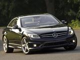 Mercedes-Benz CL 63 AMG US-spec (C216) 2007–10 photos