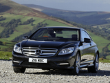 Mercedes-Benz CL 500 AMG Sports Package UK-spec (C216) 2010 images