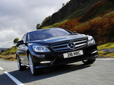Mercedes-Benz CL 500 AMG Sports Package UK-spec (C216) 2010 pictures
