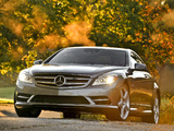 Mercedes-Benz CL 550 4MATIC (C216) 2010 pictures