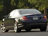 Photos of Mercedes-Benz CL 63 AMG US-spec (C216) 2007–10