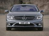 Photos of Mercedes-Benz CL 65 AMG UK-spec (C216) 2007–10
